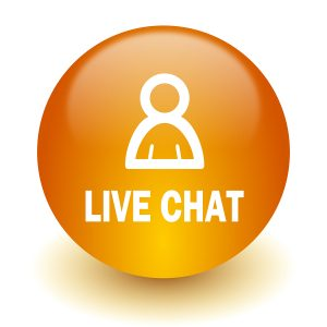 What is live chat for storm shutter companies?