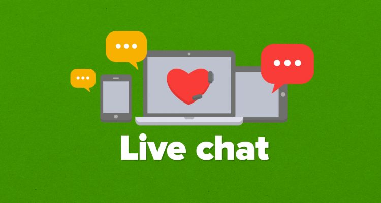 what are outsourced live chat operators support?
