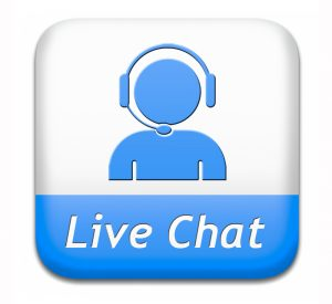 What is live chat for roofers?