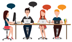 Who offers outsourced live chat?