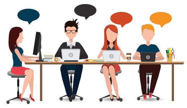 What is managed live chat?