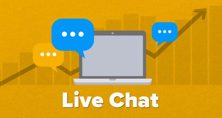 Who offers managed live chat?