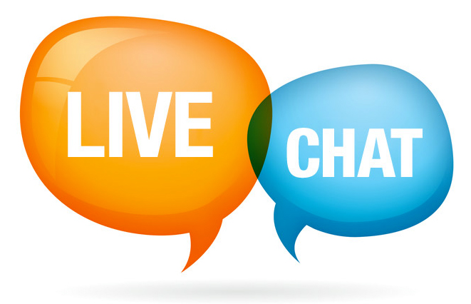 who can help me with customer live chat?