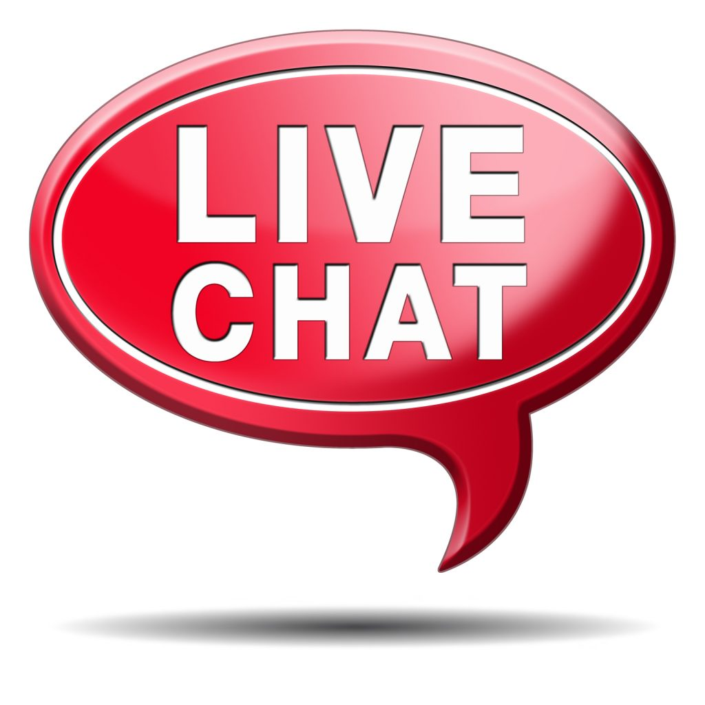 who can help me with help desk services for live chat?