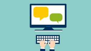 what is outsourced live chat operators?