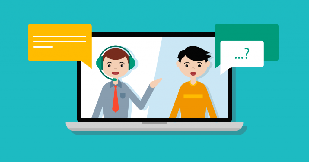 Where can I get managed live chat services?